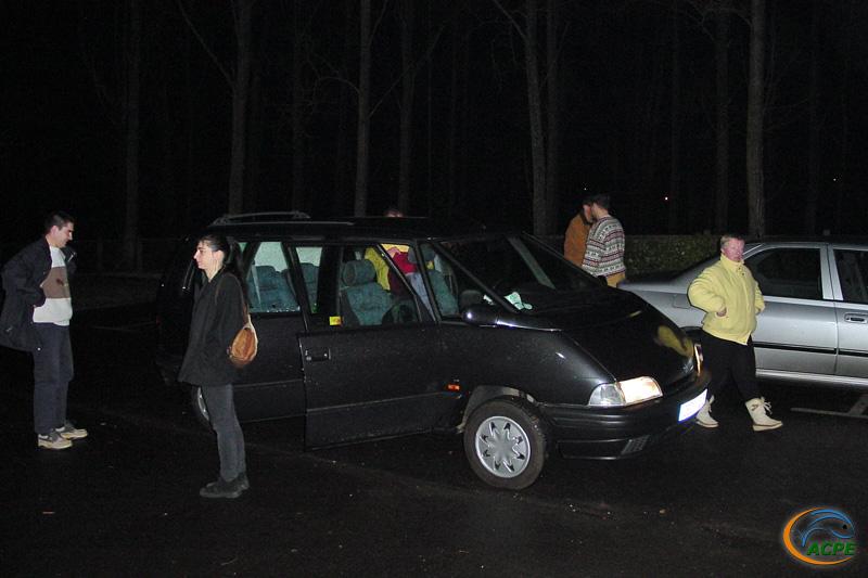 1 mars 2003, départ vers les Pays-Bas à 4h30