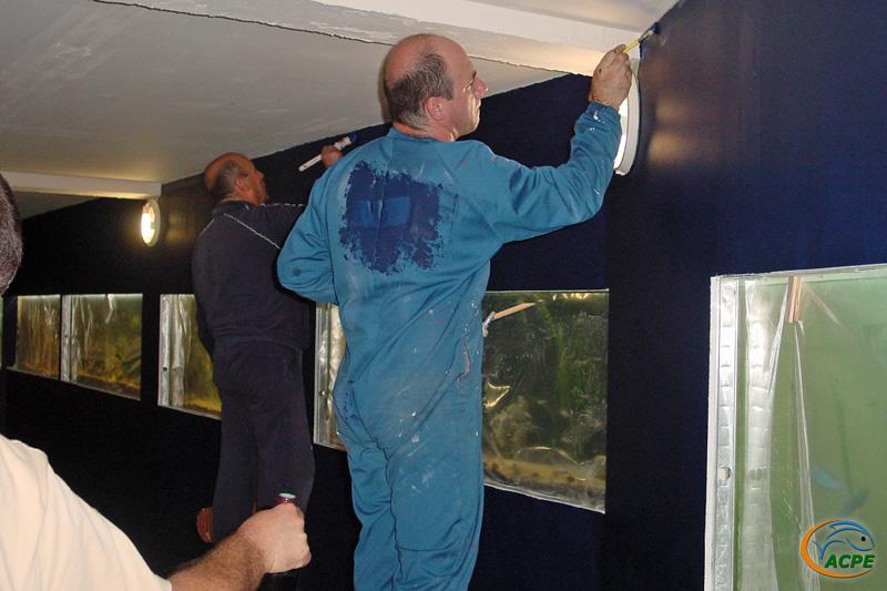 Gabriel s'est fait peindre le dos