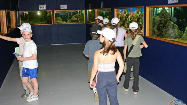 27 juin 2004, visite de l'école de Tilly