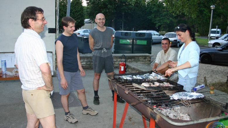 24 et 25 juillet 2004, week-end cohésion du club
