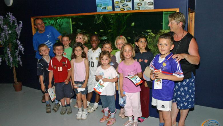 26 juin 2005, Visite de l'école de la Chaussée, de Vernon