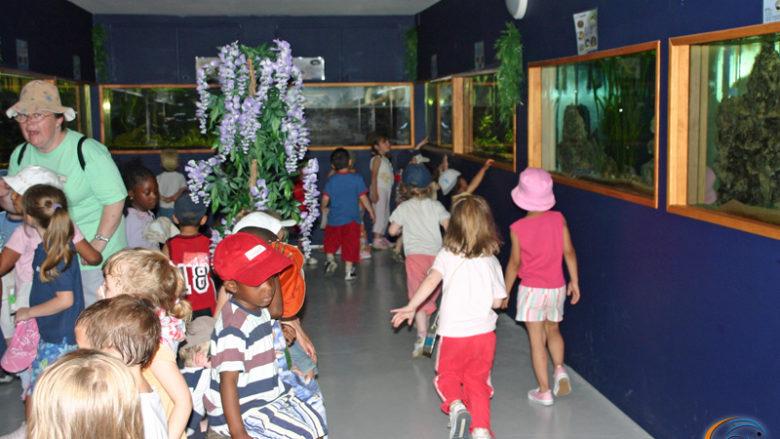 13 juin 2006, visite des élèves de l'école maternelle des Pénitents, à Vernon