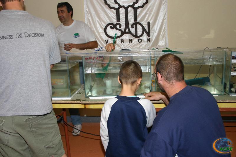 Week end aquariophile des 16 et 17 septembre 2006