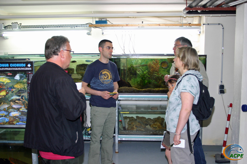 Week-end aquariophile des 21 et 22 avril 2007