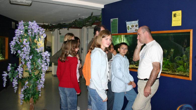 28 juin 2007, visite des 6 ème du collège Jeanne d'Arc