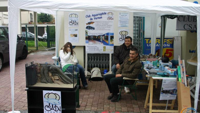 5 octobre 2008, participation au grand déballage à Vernon