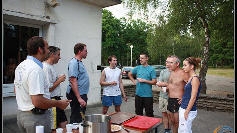 3 et 4 juillet 2009, week-end cohésion de la section aquariophilie du CSADN
