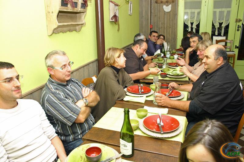 Soirée convivialité lors de nos portes ouvertes des 18 et 19 septembre 2010