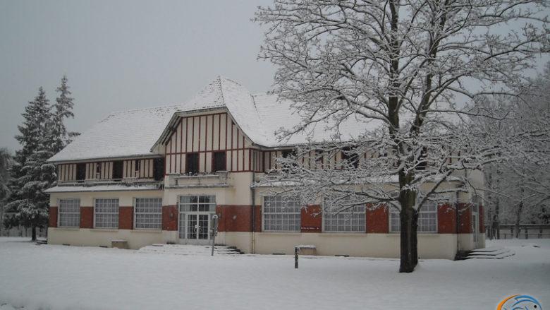 19 décembre 2010, le club enneigé