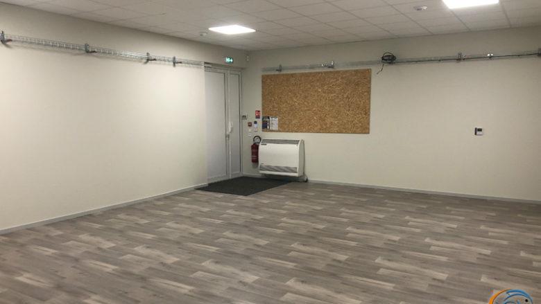 La future salle d'expositions