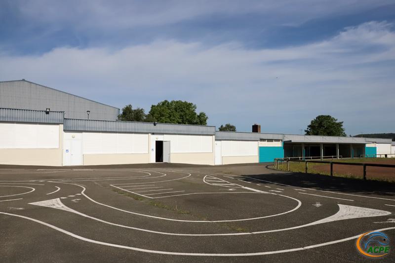 L'espace Marcel Beaufour et sa cour (août 2021)
