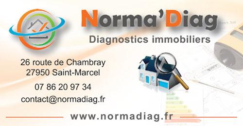 Norma'Diag, Diagnostics immobiliers sur la égion de Vernon, Saint-Marcel, Pacy Sur Eure, Gaillon, Les Andelys
