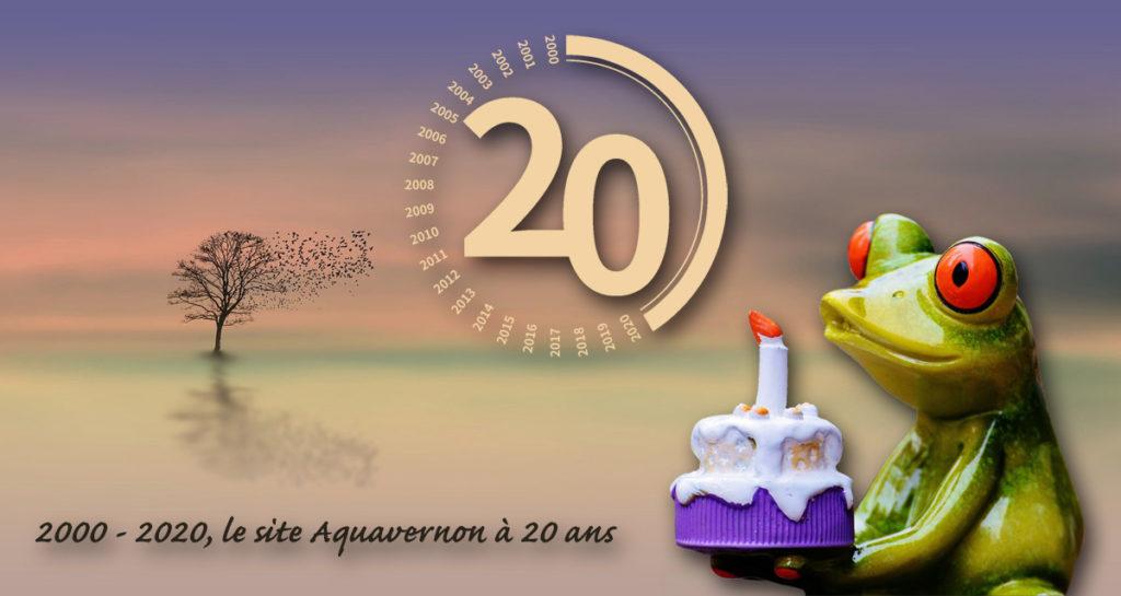 Aquavernon a 20 ans (2000-2020)
